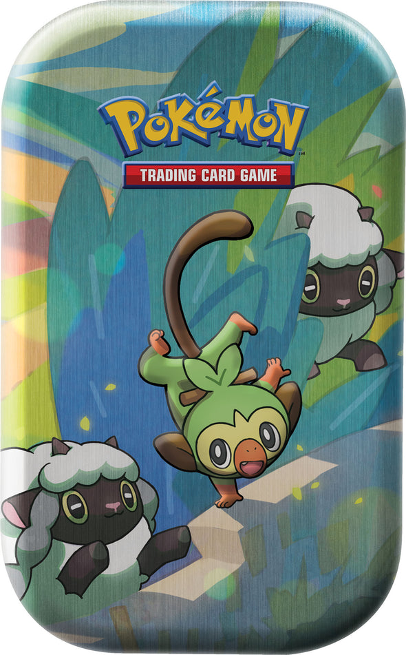 Pokemon - Galar Mini Pals Tin - Grookey - 401 Games