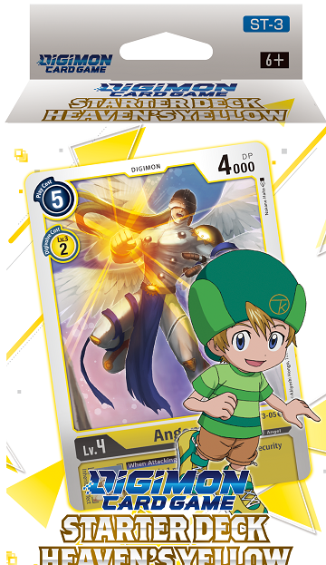 "Digimon Card Game - Starter Deck ""Heaven's Yellow"" (Pre-Order January 29, 2021) - 401 Games"