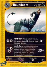 Buy Houndoom - 12/144 and more Great Pokemon Products at 401 Games