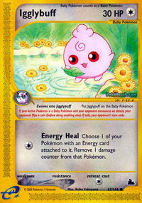 Buy Igglybuff - 67/144 - Reverse Foil and more Great Pokemon Products at 401 Games