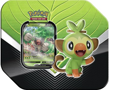 Pokemon - Galar Partnership Tin - Rillaboom V - 401 Games