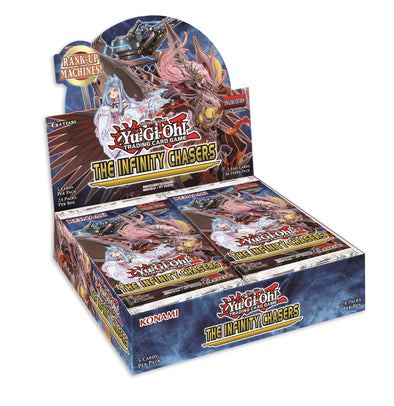 Buy Yugioh - The Infinity Chasers Booster Box and more Great Yugioh Products at 401 Games