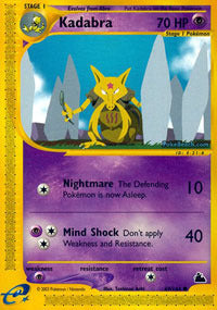 Buy Kadabra - 69/144 and more Great Pokemon Products at 401 Games