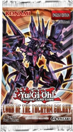Yugioh - Lord of Tachyon Galaxy Booster Pack - 401 Games