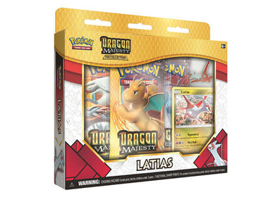 Buy Pokemon - Dragon Majesty Pin Box - Latias and more Great Pokemon Products at 401 Games