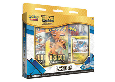 Buy Pokemon - Dragon Majesty Pin Box - Latios and more Great Pokemon Products at 401 Games