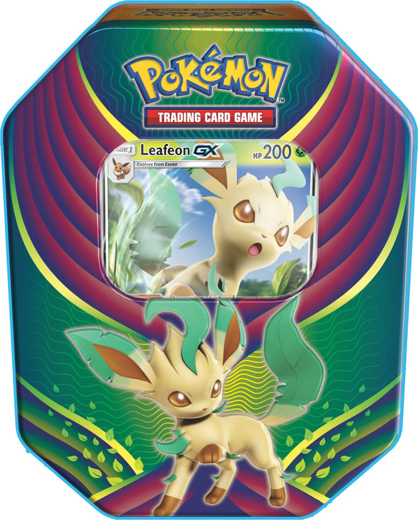Pokemon - Evolution Celebration Tin - Leafeon-GX - 401 Games