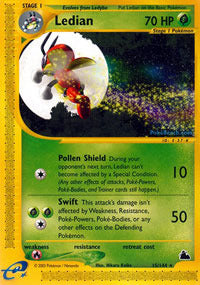 Buy Ledian - 15/144 - Reverse Foil and more Great Pokemon Products at 401 Games