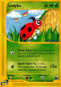 Buy Ledyba - 72/144 - Reverse Foil and more Great Pokemon Products at 401 Games
