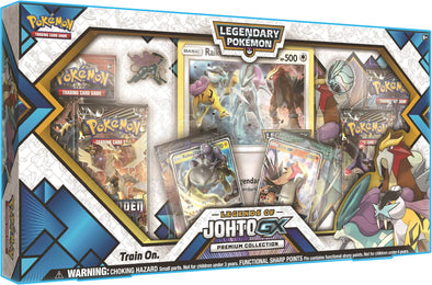 Buy Pokemon - Legends of Johto GX Premium Collection and more Great Pokemon Products at 401 Games
