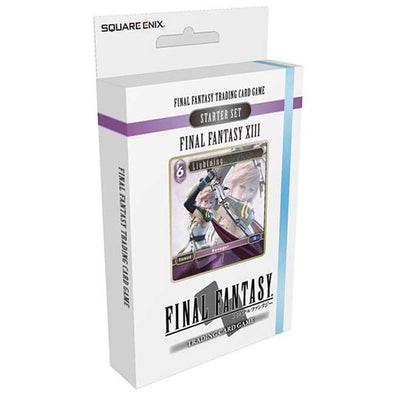 Final Fantasy TCG - Opus I Final Fantasy XIII Ice and Lightning Starter Deck - 401 Games