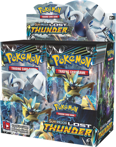 Buy Pokemon - Lost Thunder Booster Box and more Great Pokemon Products at 401 Games