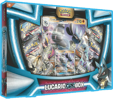 Buy Pokemon - Lucario-GX Collection Box and more Great Pokemon Products at 401 Games