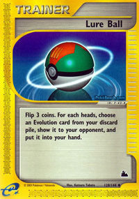 Buy Lure Ball - 128/144 and more Great Pokemon Products at 401 Games