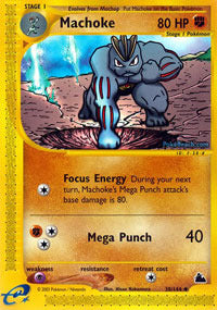 Buy Machoke - 38/144 and more Great Pokemon Products at 401 Games