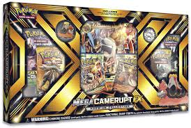 Buy Pokemon - Mega Camerupt-EX Premium Box and more Great Pokemon Products at 401 Games