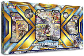 Buy Pokemon - Mega Sharpedo-EX Premium Box and more Great Pokemon Products at 401 Games