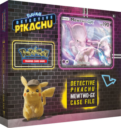 Buy Pokemon - Detective Pikachu Mewtwo GX Case File and more Great Pokemon Products at 401 Games