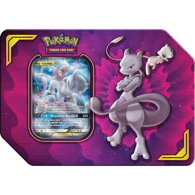 Pokemon - Power Partnership Tin - Mewtwo & Mew GX