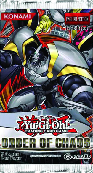 Yugioh - Order of Chaos Booster Pack - 401 Games