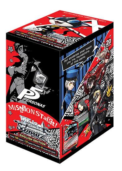 Buy Weiss Schwarz - Persona 5 - Booster Box and more Great Weiss Schwarz Products at 401 Games