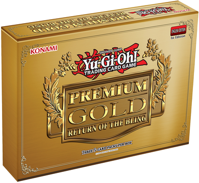 Yugioh - Premium Gold : Return of the Bling Pack - 401 Games