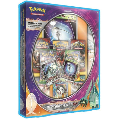 Pokemon - Ultra Beasts Premium Collection Pheromosa-GX and Celesteela-GX - 401 Games