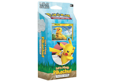 Buy Pokemon - Let's Play! Pikachu Theme Deck and more Great Pokemon Products at 401 Games