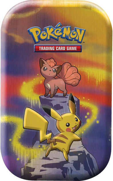 Pokemon - Kanto Power Mini Tin - Vulpix and Pikachu - 401 Games