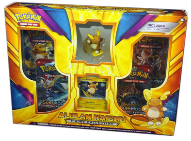 Buy Pokemon - Alolan Raichu Figure Collection Box and more Great Pokemon Products at 401 Games
