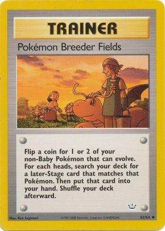 Pokemon Breeder Fields - 62/64 - Uncommon - Unlimited available at 401 Games Canada