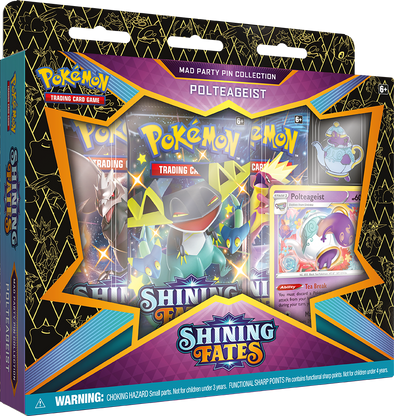 Pokemon - Shining Fates - Mad Party Pin Collection - Polteageist available at 401 Games Canada