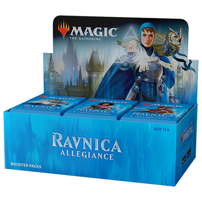 Buy MTG - Ravnica Allegiance - English Booster Box and more Great Magic: The Gathering Products at 401 Games