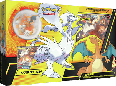 Pokemon - Reshiram & Charizard GX Figure Collection