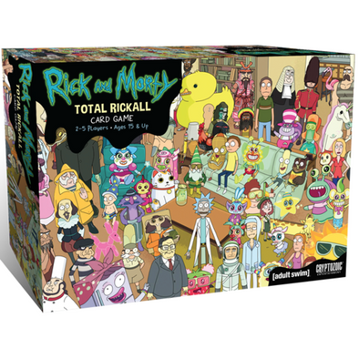 Rick & Morty - Total Rickall Co-Op Card Game - 401 Games