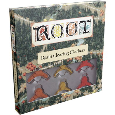 Root: Resin Clearing Markers - 401 Games