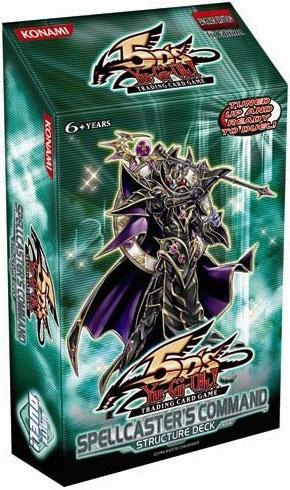 Buy Yugioh - Spellcaster's Command Structure Deck (Unlimited) and more Great Yugioh Products at 401 Games