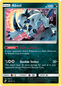 Buy Absol - 88/181 and more Great Pokemon Products at 401 Games