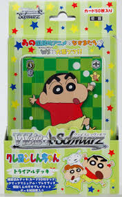 Buy Weiss Schwarz - Crayon Shin-Chan - Japanese Trial Deck and more Great Weiss Schwarz Products at 401 Games
