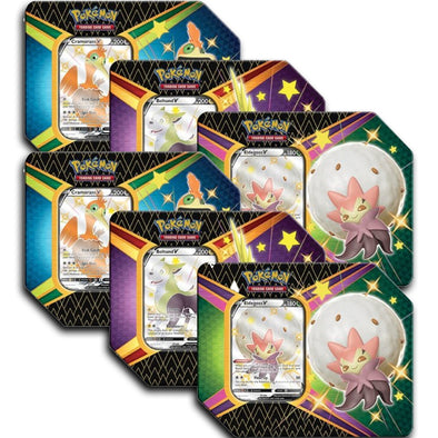 Pokemon - Shining Fates - Tins - Case of 6 available at 401 Games Canada