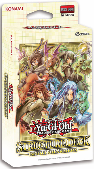 Yugioh - Spirit Charmers Structure Deck available at 401 Games Canada