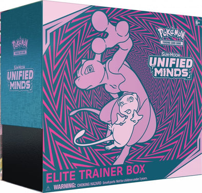 Pokemon - Unified Minds Elite Trainer Box (Pre-Order July 29th, 2019)