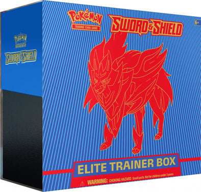Pokemon - Sword and Shield Elite Trainer Box - Zamazenta