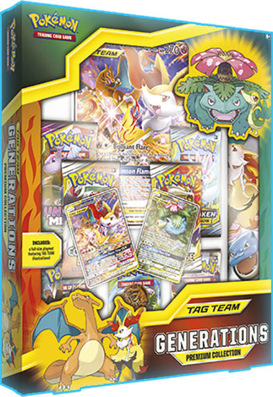 Pokemon - Tag Team Generations Premium Collection - 401 Games