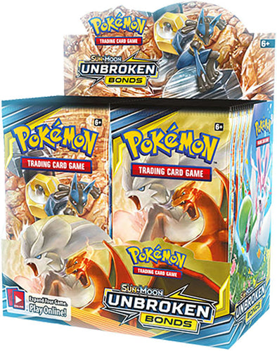 Buy Pokemon - Unbroken Bonds Booster Box and more Great Pokemon Products at 401 Games