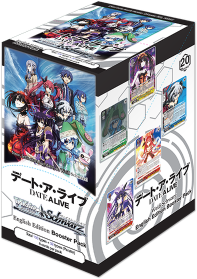 Weiss Schwarz - Date A Live Booster Box (Reprint) (Pre-Order) available at 401 Games Canada