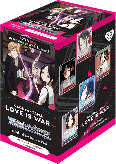 Weiss Schwarz - Kaguya-sama: Love is War Booster Box (Pre-Order) available at 401 Games Canada