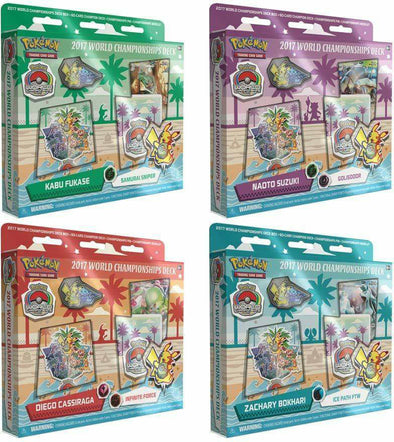 Buy Pokemon - 2017 World Championship Decks - Set of 4 and more Great Pokemon Products at 401 Games