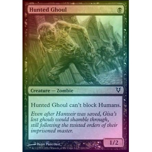 Hunted Ghoul (Foil) (AVR) available at 401 Games Canada