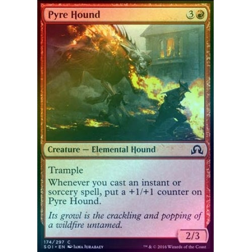 Pyre Hound (Foil)
